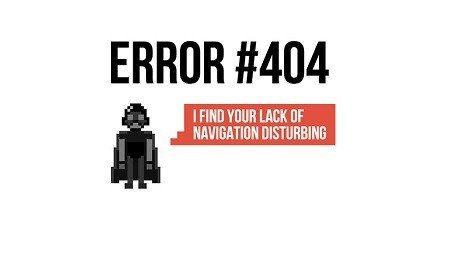 404 error - feature image via androiddev101- browser media