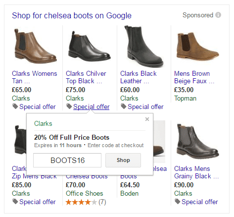 christmas-marketing-seo-ppc-clarks-boots-offer-browser-media