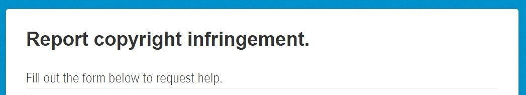 Copywritten tweets infringement form - My Five 143 - Browser media