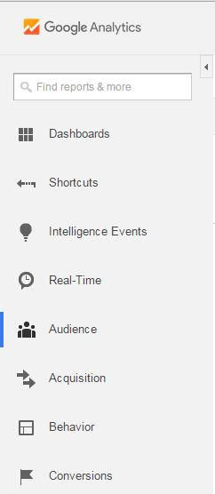 Google Analytics Bascics - Left Hand Nav - Browser Media