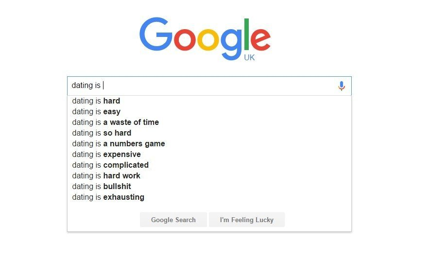 Google dating autocomplete - my Five - Browser Media