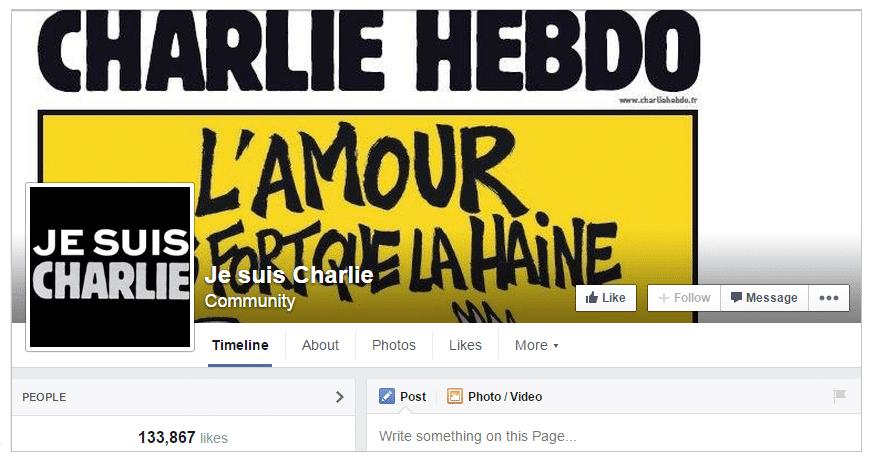Je Suis Charlie - Browser Media My Five