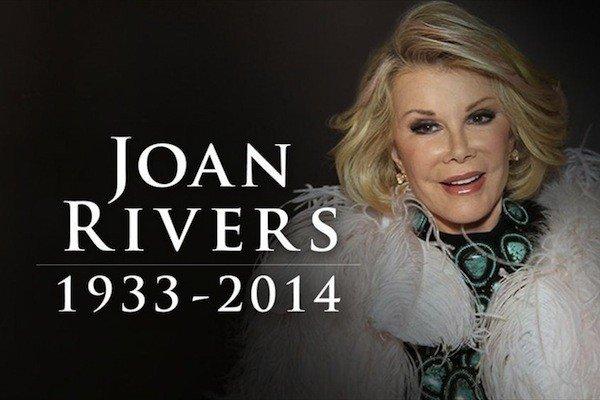 Joan Rivers 1933 - 2014