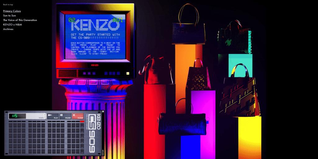 Kenzo Primary Colours Campaign