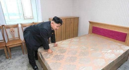 Kim Jong un bed
