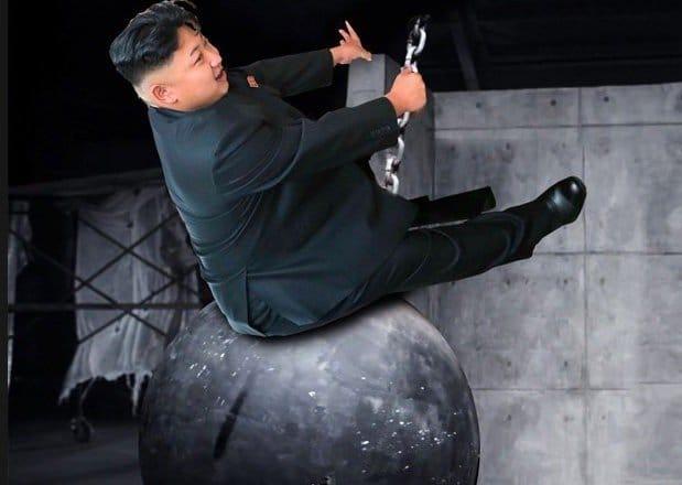 Kim Jong un wrecking ball