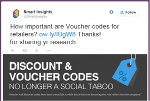 Social Proof - Smart Insights embed tweets - Browser Media