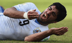 Suárez Takes A Bite Out of the World Cup