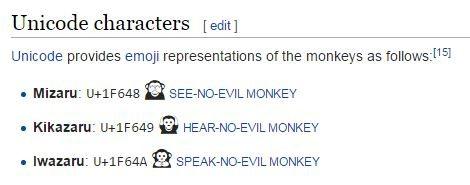 Three Wise Monkeys - My Five 184 - Browser Media