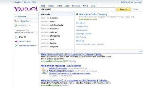 Yahoo rich