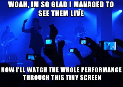 apple prevents filming at gigs - my five 190 - Browser Media