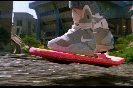 The famous Back To The Future shoes