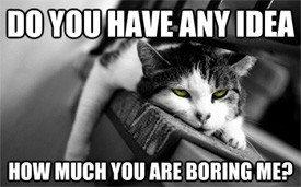 Boring Boring Boring