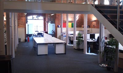 View of Browser Media office