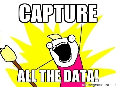 capture all the data - email marketing - browser media