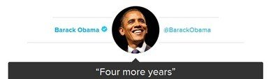 four more years tweet