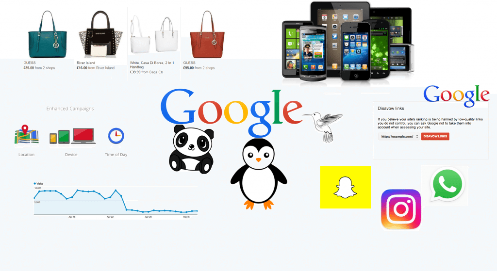 How online marketing has evolved for Google paint online