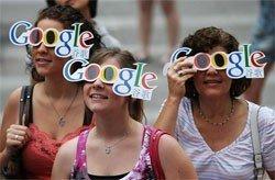 Google HUD glasses