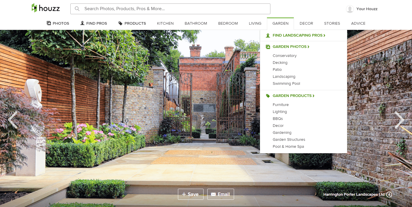 houzz example