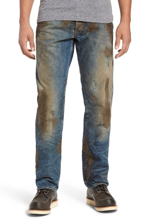 Stupid muddy jeans for people with too much money