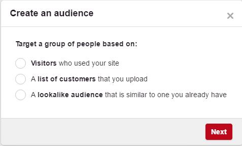 Pinterest audiences