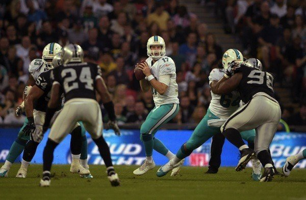 NFL: International Series-Miami Dolphins at Oakland Raiders