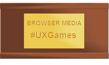 Browser Media - UX Games Plaque