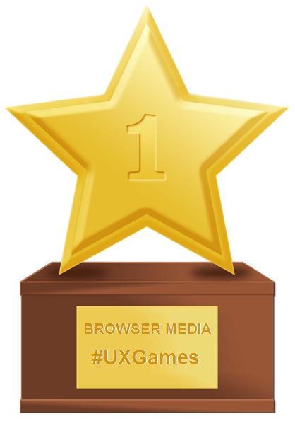 Browser Media - UX Games Trophy