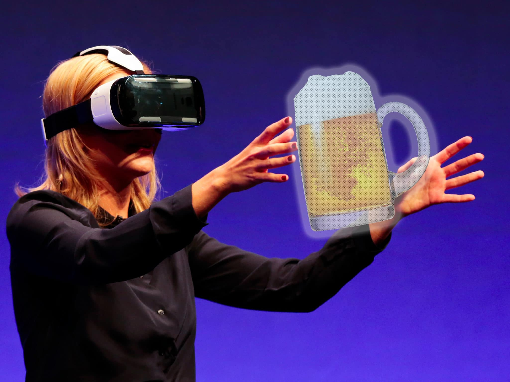 virtual reality beer - my five - browser media