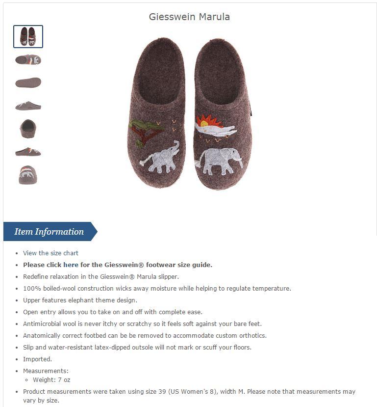 zappos product description (2)