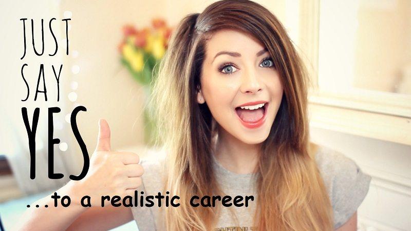 youtube career - zoella